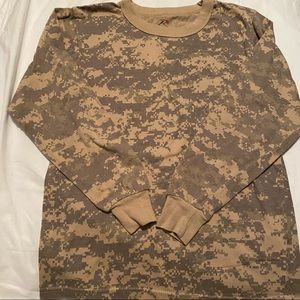 Rothco Kids Army Military Camouflage Long Sleeve L